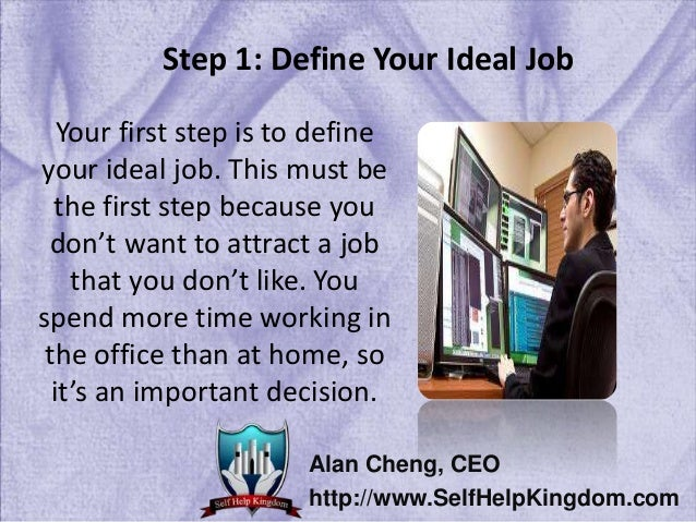 SelfHelpKingdom.com; 4.  How To Get The Job You Want