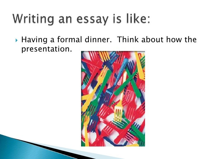 essay using order of impression Chronological order—narrative essays or process analysis essays are often best   point in your essay and to leave your audience with a good impression of.
