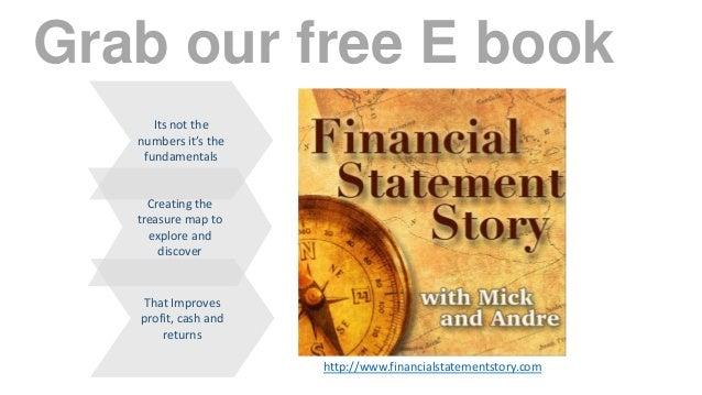 financial statement analysis using the treasure map