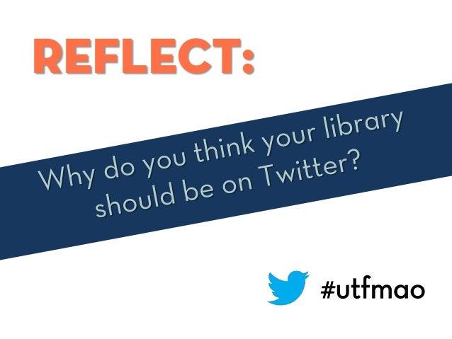 Reflect: #utfmao