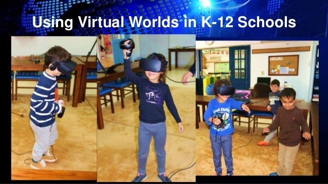 Dr  David W  Deeds: Using Virtual Worlds in K-12 Schools