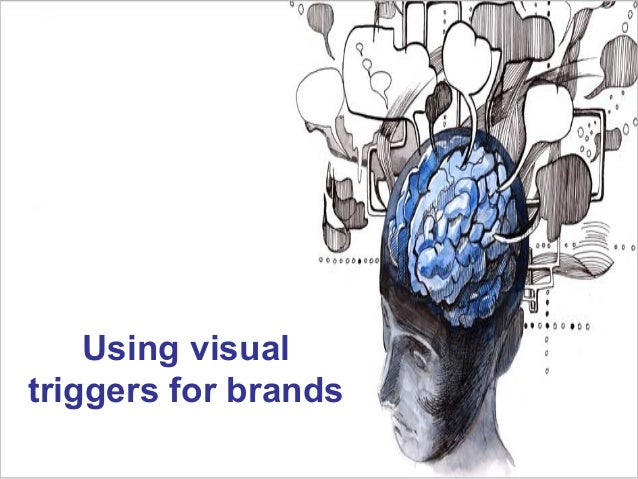 Using visual triggers for brands
