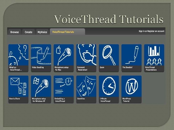 VoiceThread Tutorials<br />