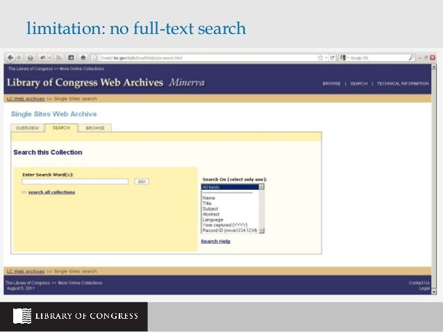Using Wayback Machine for Research