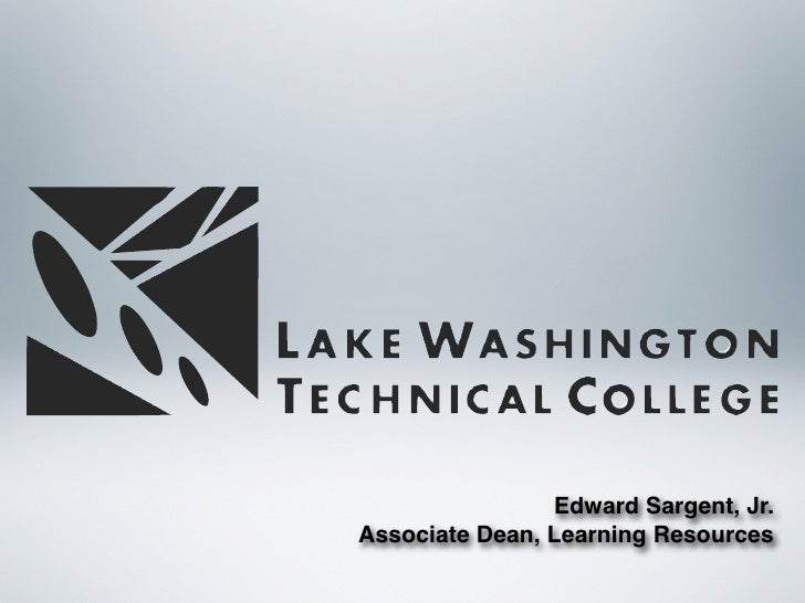 Edward Sargent, Jr. Associate Dean, Learning Resources