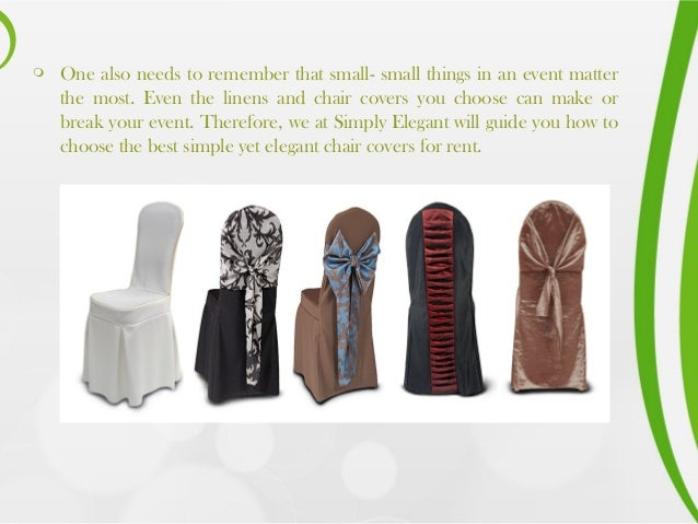 Stupendous Using White Chair Covers And Give Decent Look To Your Event Machost Co Dining Chair Design Ideas Machostcouk