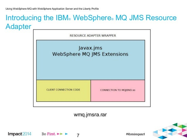 7 Introducing the IBM® WebSphere® MQ JMS Resource Adapter Using WebSphere MQ with WebSphere Application Server and the Lib...