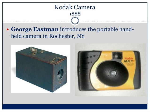 george eastmans inventions Fascinating facts about george eastman inventor of the first film in roll form in 1884 and the kodak camera in 1888.
