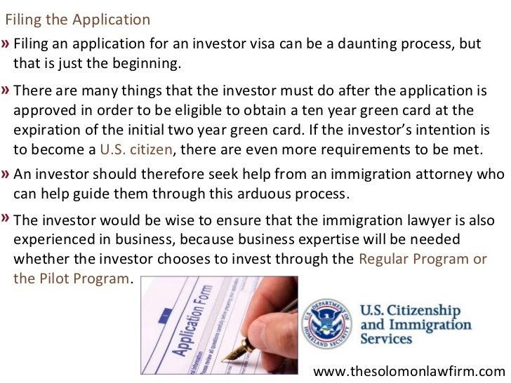 US Investor Visas Program (EB-5 Visas) And Immigration ...