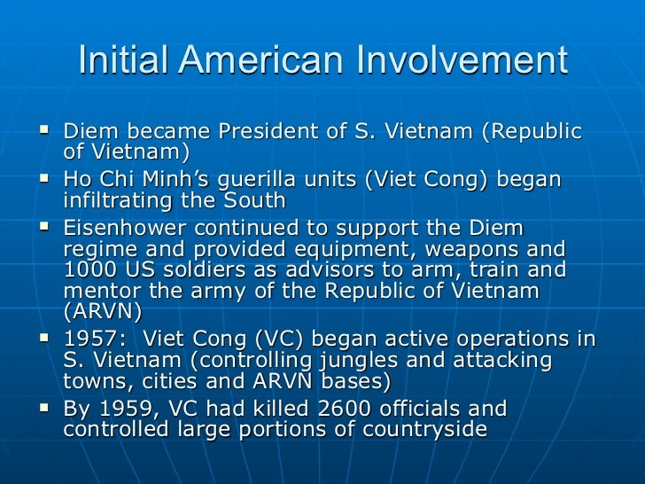the background of americas involvement in vietnam