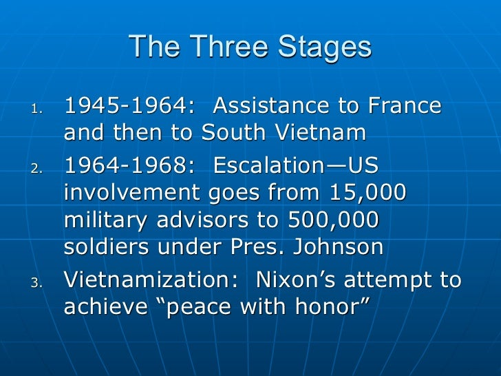 the historical background of us involvement in vietnam Ending the vietnam war the american people would give him a year to end us involvement united states department of state history@state.