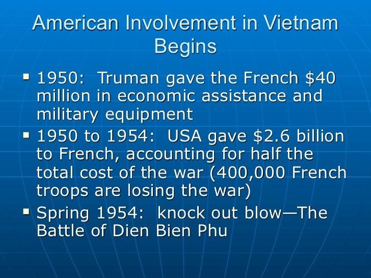 us involvement in vietnam The domino theory & the vietnam war: definition & eisenhower's  for us involvement in vietnam:  the vietnam war: definition & eisenhower's speech.
