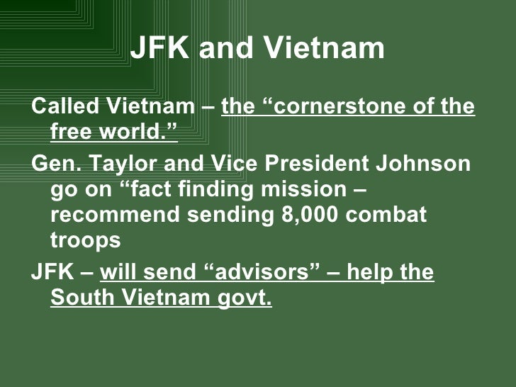 vietnam war american involvement essay Evaluation – my research into the vietnam war focused on the american involvement and the reasons for the us' engagement in the country this investigation.