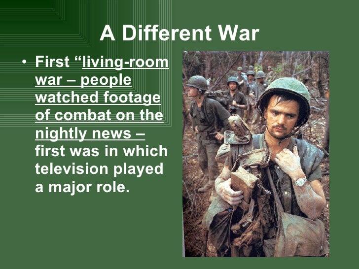 Us Involvement In Vietnam - Living room war