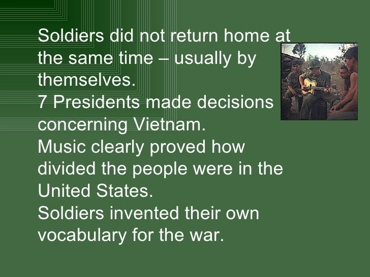 the different reasons for the us involvement in the vietnam war United states involvement in the korean war: causes and effects  other  examples of proxy wars include the vietnam war and the war in afghanistan.
