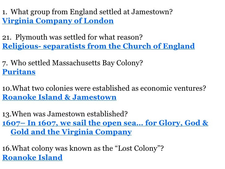 European Exploration And Colonization Study Guide Answers