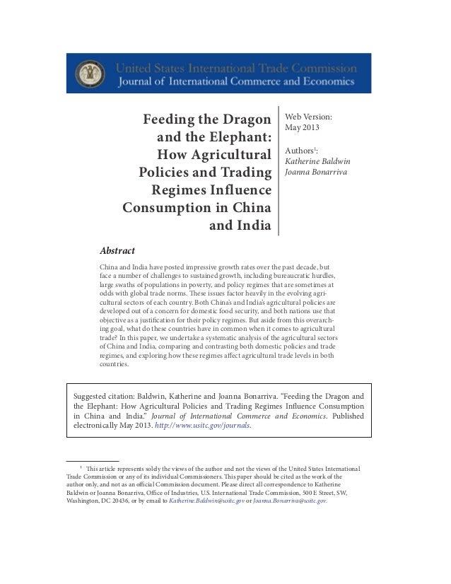 Web Version: May 2013 Authors1 : Katherine Baldwin Joanna Bonarriva Abstract China and India have posted impressive growth...