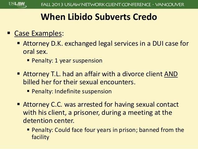 Sexual Misconduct In Professional Liability Cases Key Strategies In