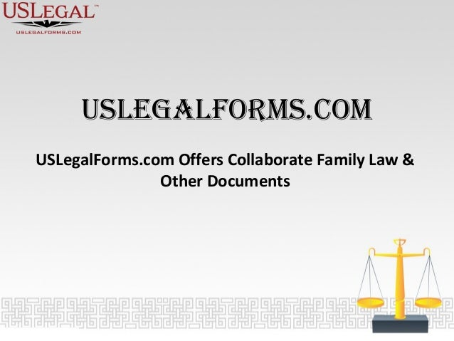 USLegalFormscom Offers Collaborate Family Law Other Documents - Us legal documents