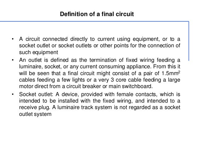 Definition ...  sc 1 st  SlideShare : fixed wiring definition - yogabreezes.com