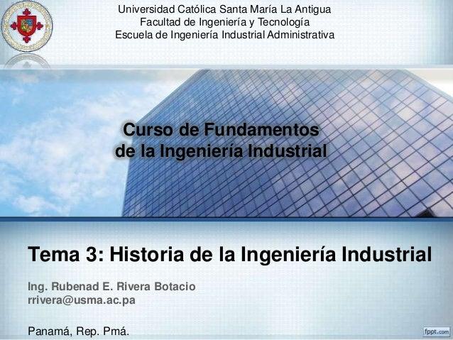 Universidad Católica Santa María La Antigua                   Facultad de Ingeniería y Tecnología               Escuela de...