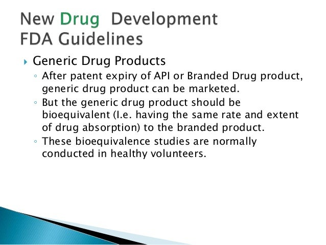 FDA Guidelines for Drug Development & Approval