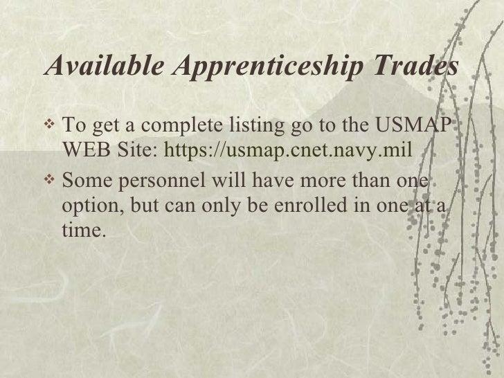 Usmap Usn - Us map apprenticeship program