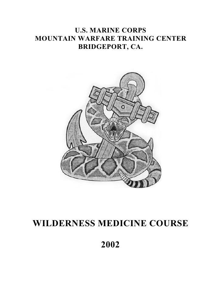 Us Marine Corps Wilderness Medicine Course
