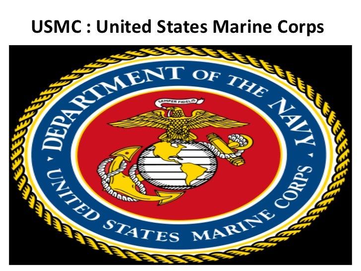 USMC : United States Marine Corps