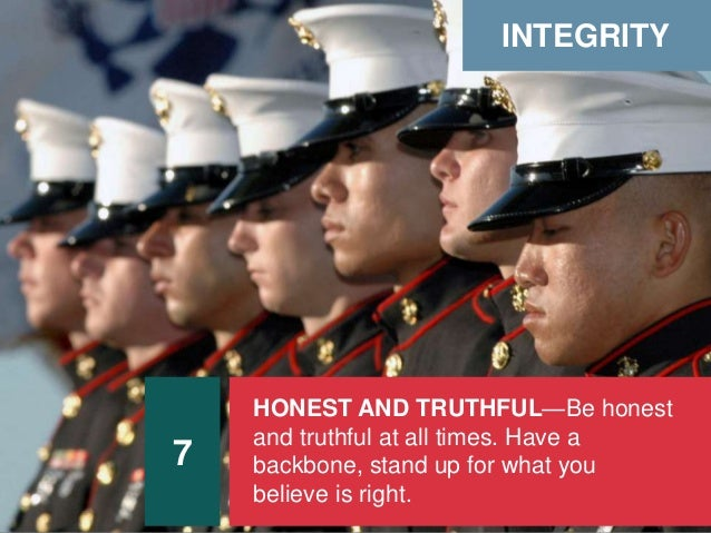 Marine Corps Leadership Traits