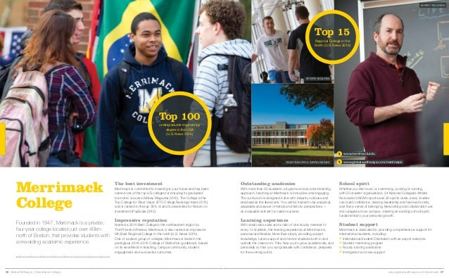 Merrimack College Brochure