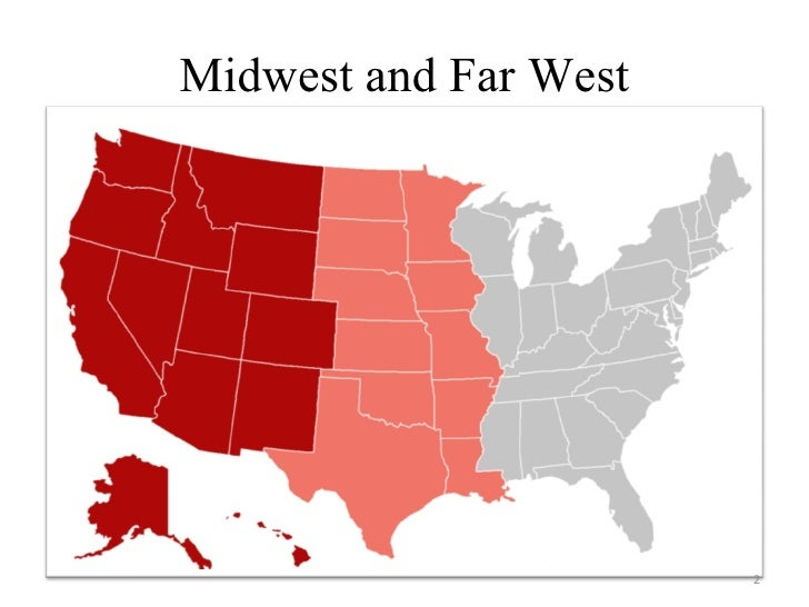 Us midwest & farwest: social and linguistic issues Slide 2