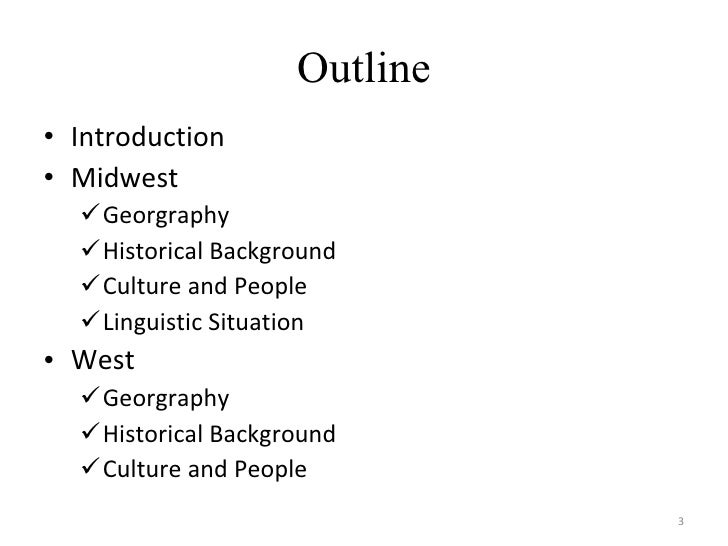 Us midwest & farwest: social and linguistic issues Slide 3