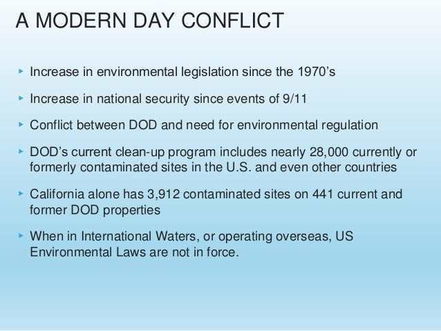 Us military exemptions from environmental permitting and