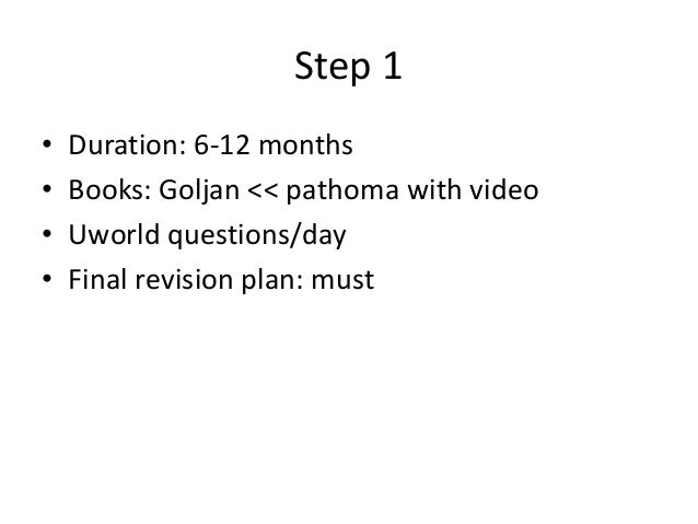 Usmle for IMG- step by step