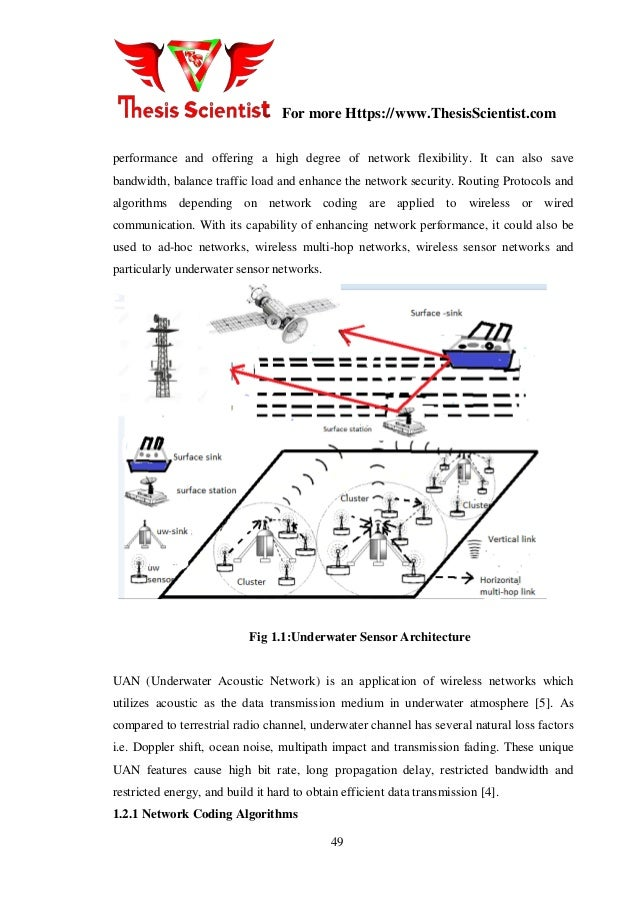 Master Thesis on Performance Improvement of Underwater Acoustic Senso…