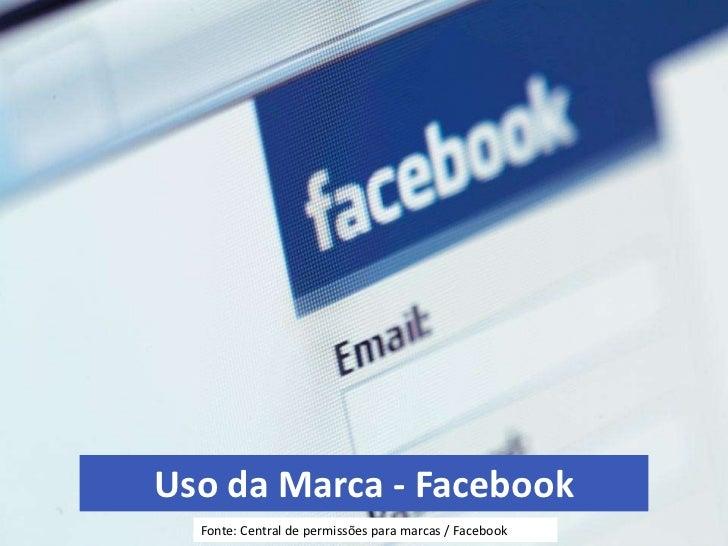 Uso da marca - Facebook