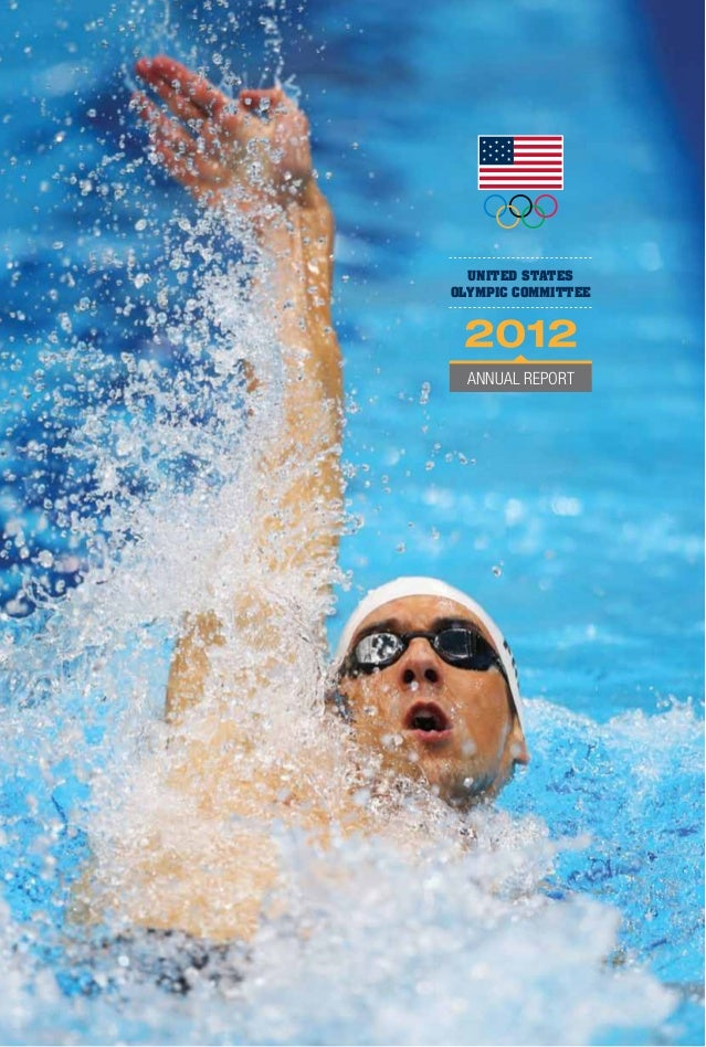 UNITED STATES OLYMPIC COMMITTEE  annual report