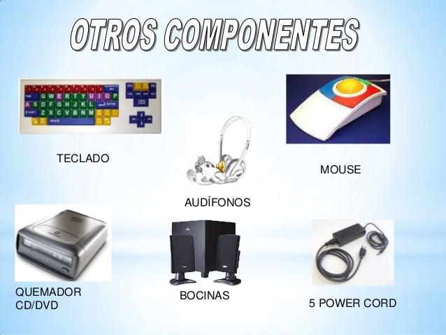 TECLADO MOUSE AUDÍFONOS QUEMADOR CD/DVD BOCINAS 5 POWER CORD