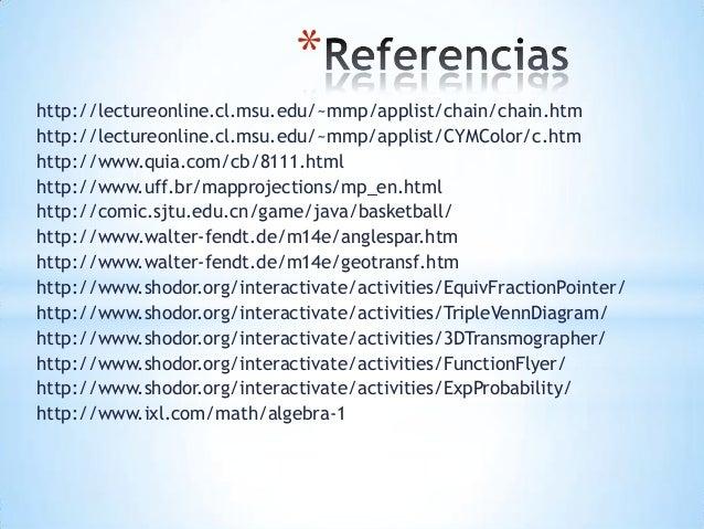 * http://lectureonline.cl.msu.edu/~mmp/applist/chain/chain.htm http://lectureonline.cl.msu.edu/~mmp/applist/CYMColor/c.htm...
