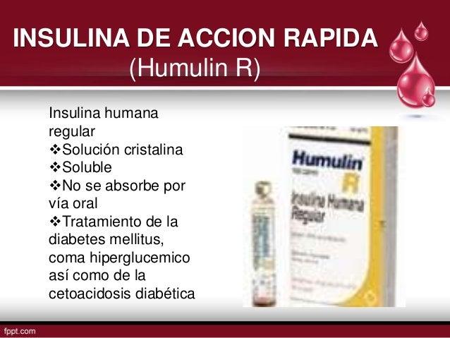 Uso de insulinas