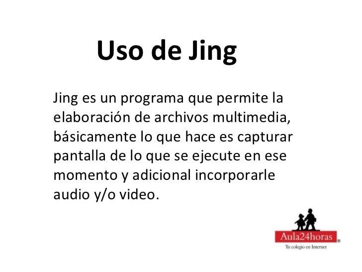 Uso de Jing Slide 2