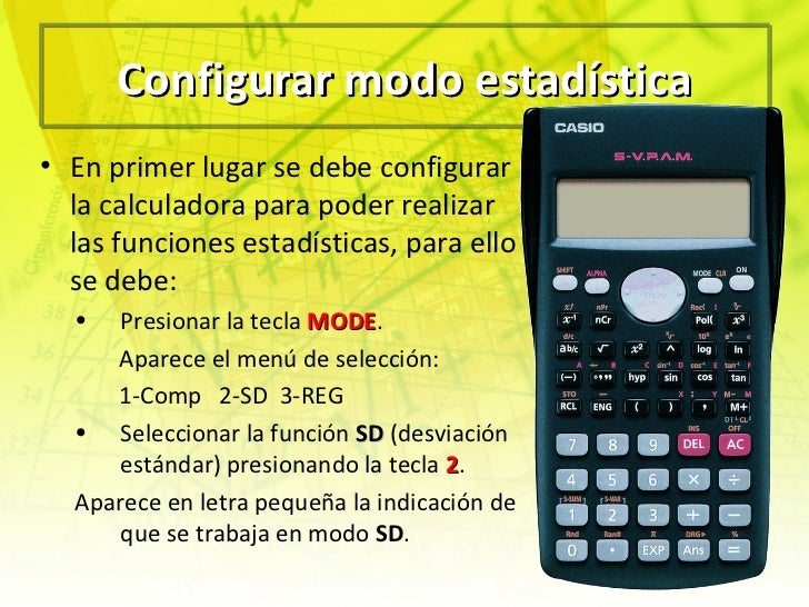 Desviación media calculadora