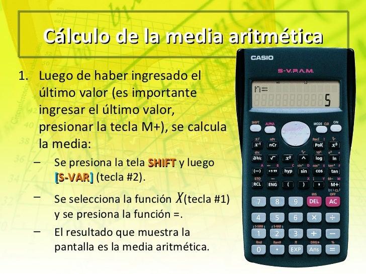 Como sacar la mediana en la calculadora