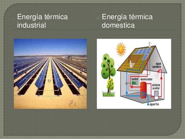 Uso De La Energ 237 A Termica