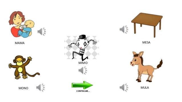 Actividad lúdica para aprender el uso de la letra M