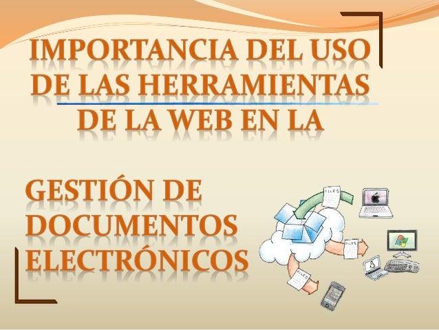 Se encarga del desarrollo de tecnologías para tareas tan importantes en el mundo de la información como el manejo de docum...