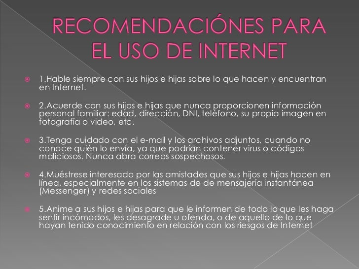 Uso del internet Slide 3