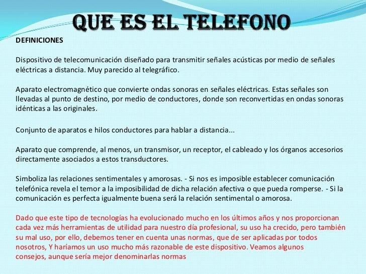 Uso del telefono final for Oficina de empleo telefono informacion