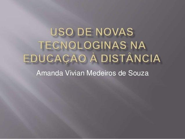 Amanda Vivian Medeiros de Souza